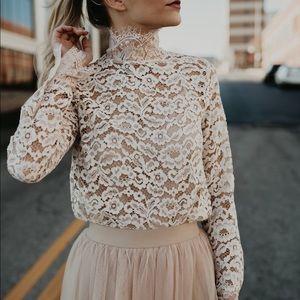 New Lace Blouse